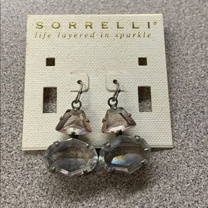 Hook back dangle earrings by Sorrelli